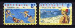 Australia - 1994 - Life Saving Centenary (Perf 11½) - Used - 1990-99 Elizabeth II