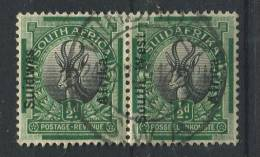 Südwestafrika 89-90 O Waagrechtes Paar (b04dx) - South West Africa (1923-1990)