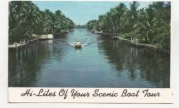 BR54995 Hi Lites Of Your Scenic Boat Tour  Fort Lauderdale     2 Scans - Fort Lauderdale