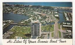BR54996 Hi Lites Of Your Scenic Boat Tour  Fort Lauderdale     2 Scans - Fort Lauderdale