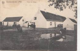 BR55046 Ferme De Village Cow Vaches Oostudinkerke Sur Mer   2 Scans - Oostrozebeke