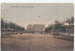 BR55051 La Place De Jeu De Balle Quierain  2 Scans - Quiévrain