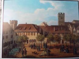 CH SUISSE Bale/Basel Barfûsserplatz JJ SCHNEIDER Um 1820 N°42 Marché Aux Porcs Tours - BS Bâle-Ville