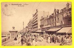 * Blankenberge - Blankenberghe (Kust) * (Albert, Nr 59) Digue, Zeedijk, Café, Plage, Hotel, Restaurant, Animée, CPA - Blankenberge