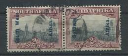 Südwestafrika 96-97 O Waagrechtes Paar (b04dx) - South West Africa (1923-1990)