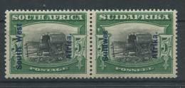 Südwestafrika 104-105 * Waagrechtes Paar (b04dx) - South West Africa (1923-1990)