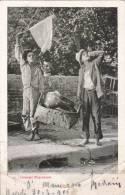 COSTUMI NAPOLETANI VG 1905 BELLA FOTO D´EPOCA ORIGINALE 100% - Costumi