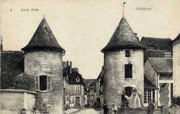 89 -CHABLIS- Porte Noël-Animée,Gendarme, Cardeur Matelassier ??? - Chablis