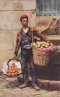 PALERMO - VENDITORE DI ARANCI  BELLA FOTO D´EPOCA ORIGINALE 100% - Costumi