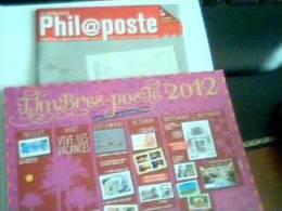 Catalogue Phil@poste  Et Timbres Poste 2012 - Timbres