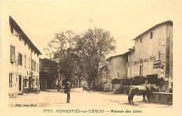 DEPTS DIV- Tarn - Ref -F901-monesties Sur Cerou - Avenue Des Lices  - Carte Bon Etat - - Monesties