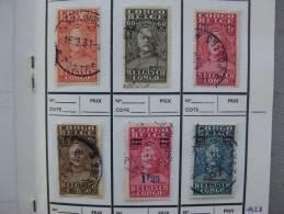 Congo Belge : Stanley 1928 - Belgian Congo