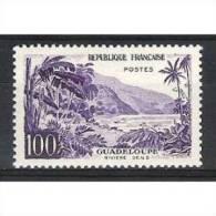 Timbre De France Etat Neuf : N° Y&t : 1194 : Guadeloupe 100 Francs Avec Gomme Sans Trace De Charniere. - Frankreich