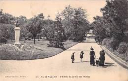 44 SAINT NAZAIRE L ENTREE DU JARDIN DES PLANTES ANIMEE - Saint Nazaire