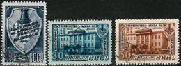 RUSSIA..1948..Michel # 1292-1294...used...MiCV - 5 Euro. - Usati