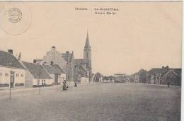 16844g GROOTE MARKT - Grand'Place - Kiosque à Musique - Selzaete - 1913 - Zelzate