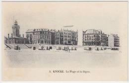 17159g La PLAGE Et La DIGUE - Knocke - Knokke