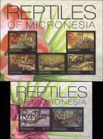 Micronesia 2011 Reptiles Turtles 2 SS MNH - Micronesia