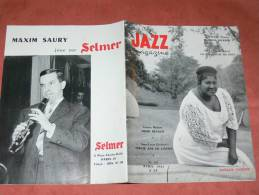 JAZZ MAGAZINE AVRIL 1961  N° 69  MAHALIA JACKSON / HENRI RENAUD / JR MASSON / LE SOUL - Music
