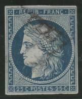 FRANCIA 1850 - Yvert #4 - VFU - 1849-1850 Cérès