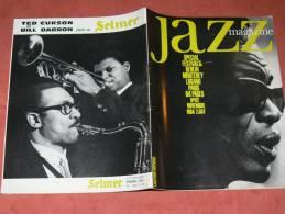 JAZZ MAGAZINE NOVEMBRE 1964  N° 112  LIGHTIN HOPKINS / DAVE BRUBECK / FESTIVAL MONTEREY / BERLIN /PARIS / LUGANO / - Musique
