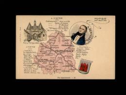 36 Carte Departement - France