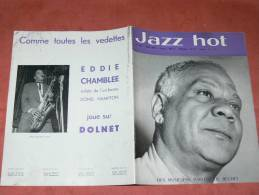 JAZZ HOT 1959 N° 144 JUIN CLIFFORD BROWN / SIDNEY BECHET / KENNY DOHRAM - Music