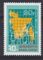 Bangladesh 1974 Mi. 38      20 P Volkszählung MNH** - Bangladesch