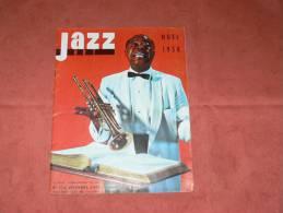 JAZZ HOT 1958 N° 138 DECEMBRE ART BLAKEY / DONALD BYRD / DUKE ELLINGTON / MAL WALDRON - Music