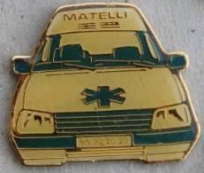 AMBULANCE MATELLI     -     (VERT) - Geneeskunde
