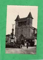 Villeréal L'église Carte Animée - France