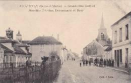 Chatenay - Grande Rue (sortie) Direction Provins, Donnemarie Et Bray [10010C77] - France