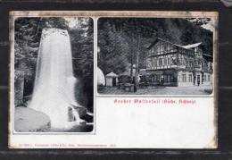 35929   Germania,    Grosser  Wasserfall (Sachs. Schweiz),  NV - Sebnitz