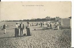 44 - LOIRE ATLANTIQUE - LE POULIGUEN - Sur La Plage - Le Pouliguen