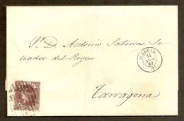 ESPAÑA 1862 - Envuelta - 1850-68 Regno: Isabella II