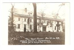 Carte Photo  : Philadelphia : The Wick House - Philadelphia