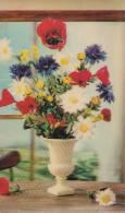 Fleurs Des Champs/carte Visiorelief/ Réf:C0751 - Fleurs, Plantes & Arbres