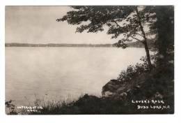Carte Photo  : New  Jersey : Budd Lake  :  Lover's Rock - Etats-Unis