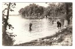 Carte Photo  : New  Jersey : Budd Lake  :  Lake , Trees , Swimmers .... Lac , Arbres , Nageurs ... - Etats-Unis