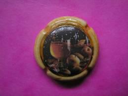 Feve PERSO Ceramique - CAPSULE DE CHAMPAGNE N° 9 - Serie BILLAUDET- LISIEUX 2006 ( Feves ) - Unclassified