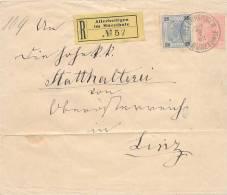 ALLERHEILIGEN  - 1902 , R-Brief Nach Linz -  Big Letter: International Dispatch  3,70 EURO ! - Ganzsachen