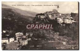 CPA Contes Vue Generale Environs De Nice - Contes