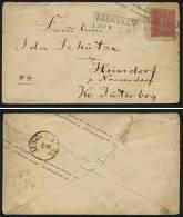 A1661) AD NDP Ganzsachen-Brief U26A Von Kreiensen 20.8.1869 Nach Heinsdorf