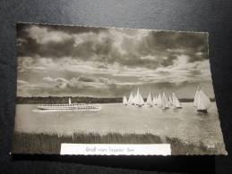 Gruss Vom Tegeler Bateau Voilier Ship Berlin > Reinickendorf Allemagne Deutschland Printed In Germany Postkarte CPM Card - Reinickendorf