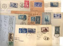 Lot 60 Devant De Lettres Années 30 - Brieven En Documenten