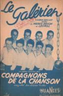 PARTITION - LE GALERIEN  -  Les COMPAGNONS De La CHANSON - Chanson Populaire RUSSE - Scores & Partitions