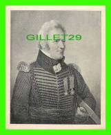 MILITARIA - CHARLES-MICHEL D'IRUMBERRY DE SALBERRY - Officier Et Héros Canadien-français - DIMENSION 11X14 Cm - - Documents