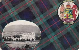Clan Murray, Blair Castle, The Seat Of The Murrays Postmark: St. John, NB Jul 4 1907 - Perthshire