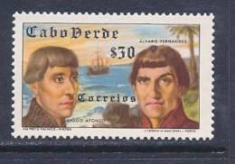 Cape Verde, Scott # 279 Mint Hinged Portraits, 1952 - Cape Verde