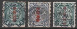 Michel 97, 101 And 112  Gestempeld  Cote 4,10 Euro - China